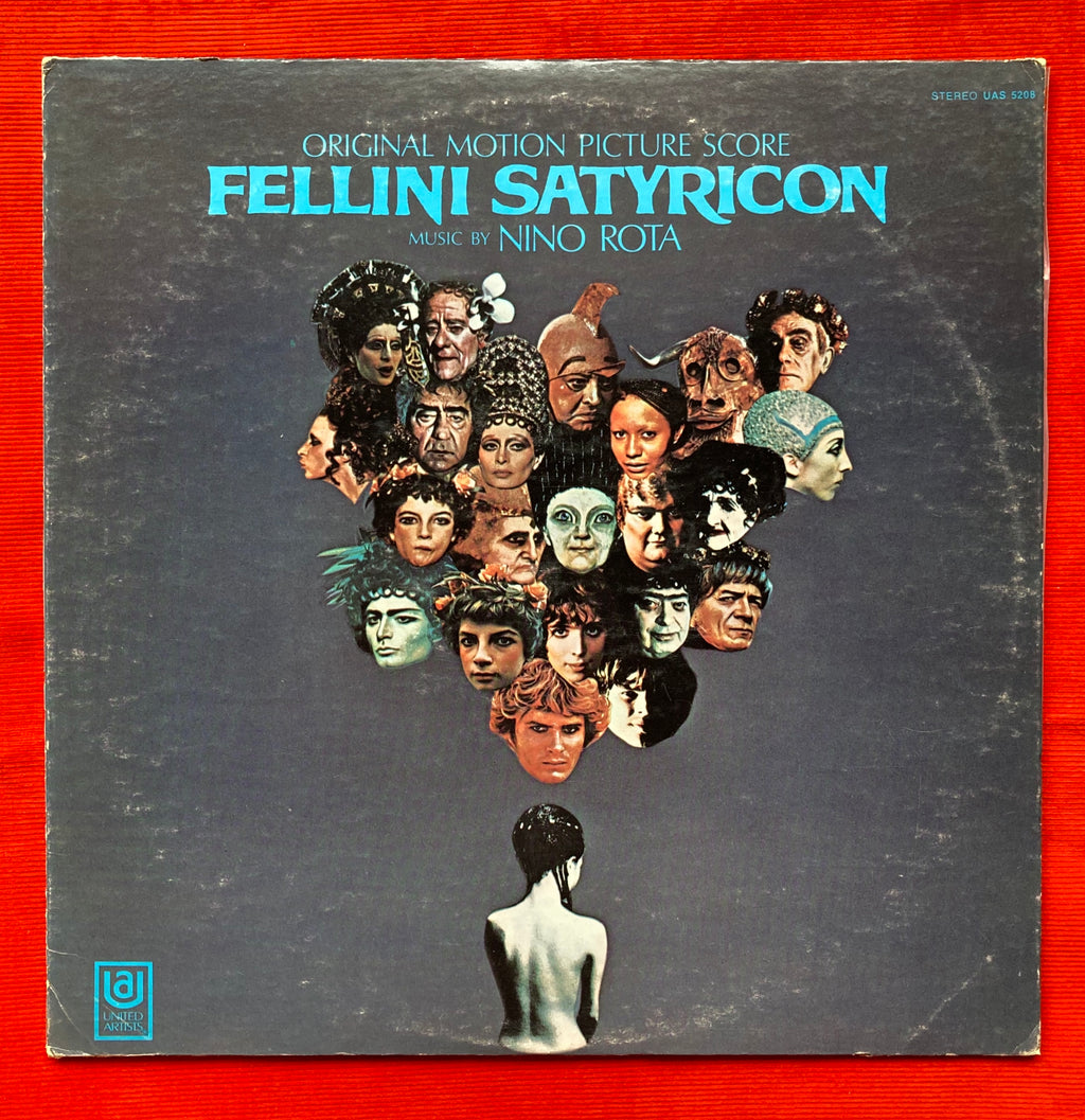 Fellini Satyricon - Nino Rota Original Motion Picture Score VG+