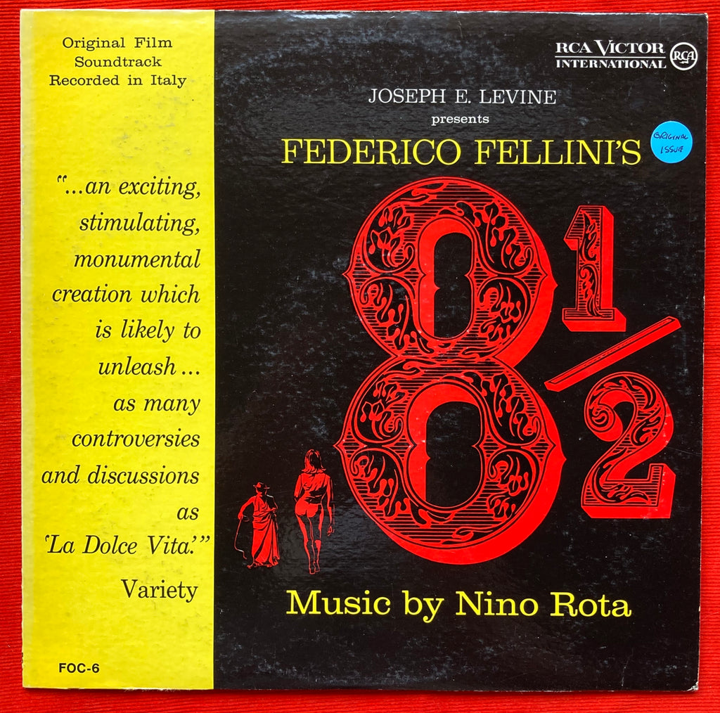Federico Fellini's 8½ - Nino Rota Original Soundtrack Recording 1963 VG