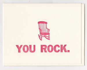 "Mother's Day! ""You Rock,"" by Zeichen Press"