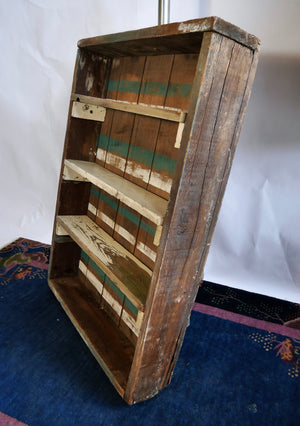 Primitive Upcycled Drawer Wall Shelf