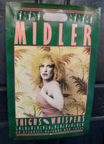 1979 Bette Midler, Thighs and Whispers, Atlantic Records Promotional Poster