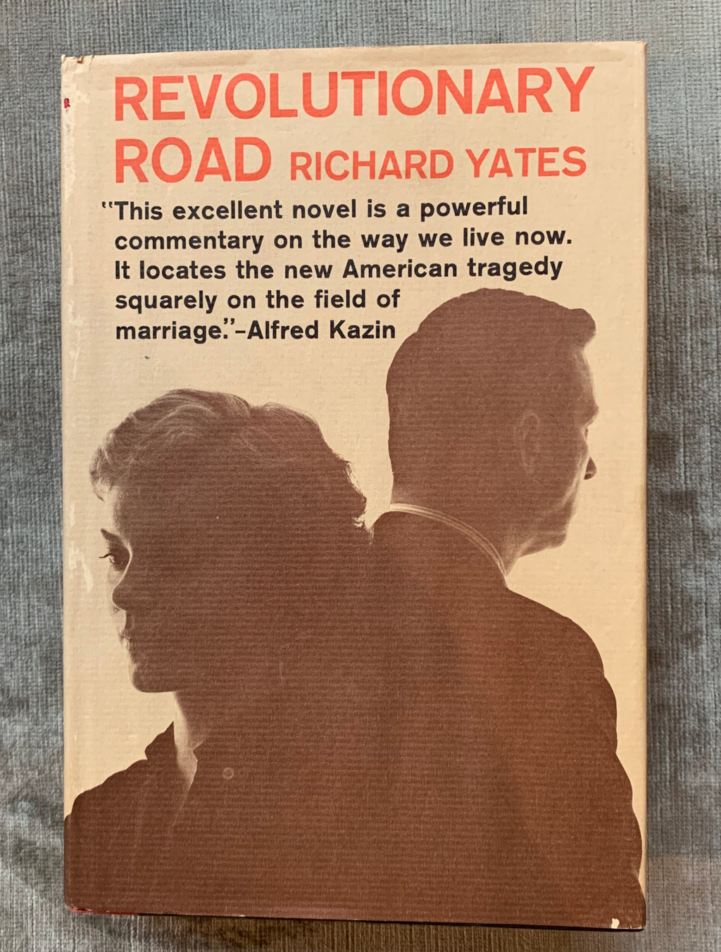 """Revolutionary Road"" by Richard Yates 1961 First Edition"