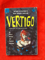 "Alfred Hitchcock's ""Vertigo -The Living And the Dead"" Movie Tie-In, 1958 Dell Books"