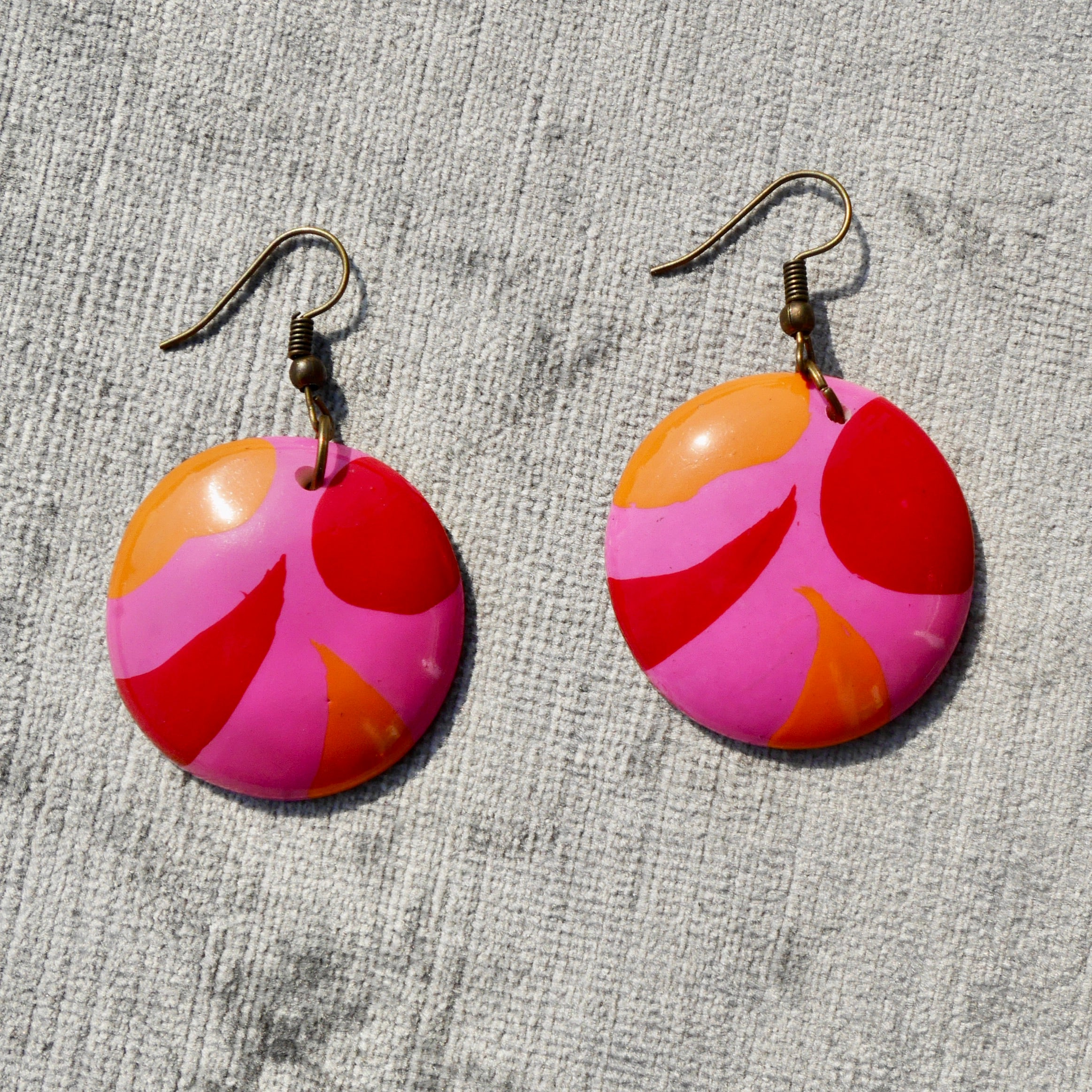 1980s Dangly Earrings