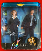 THE X FILES Barbie & Ken 1998