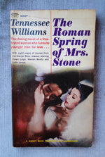 Tennessee Williams, The Roman Spring of Mrs. Stone, Signet 1961, Movie Tie-In Paperback