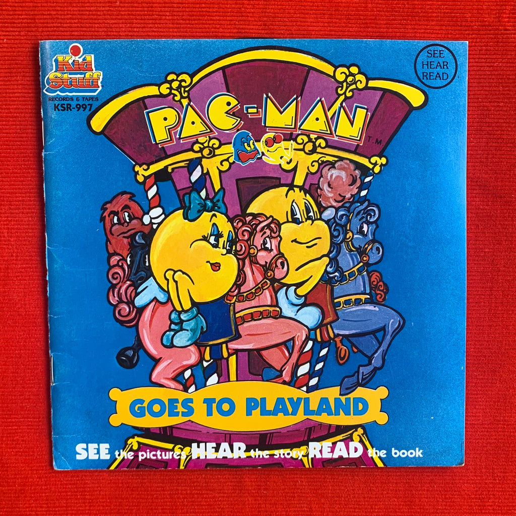 Pac-Man Goes to Playland - Book and Record
