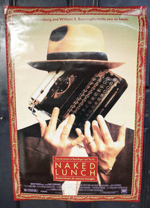 Naked Lunch (1991) Original Movie Poster - Double-Sided