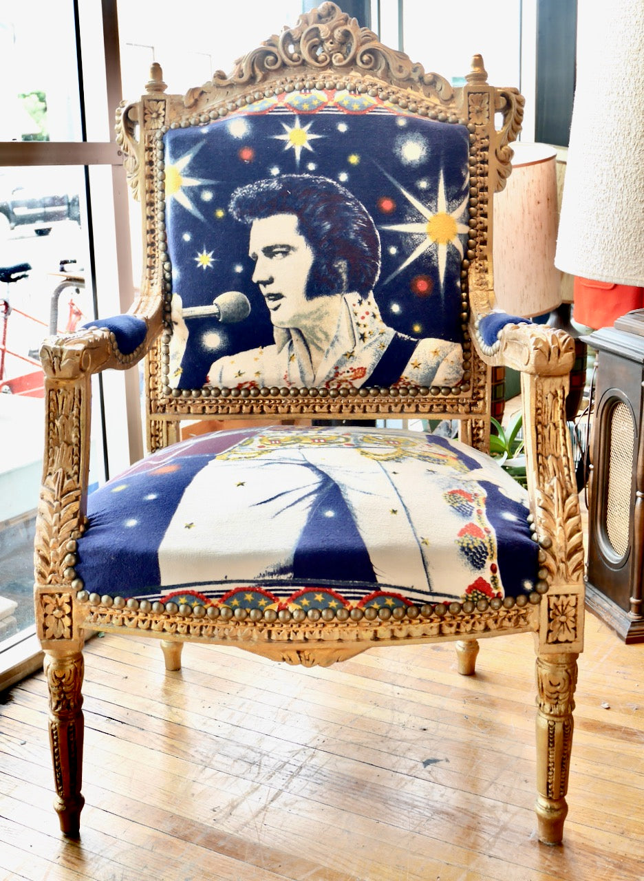 Custom Elvis Chair