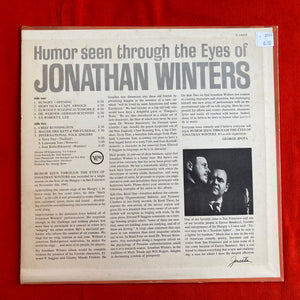 JONATHAN WINTERS - Humor Seen through the Eyes of... LP 1963