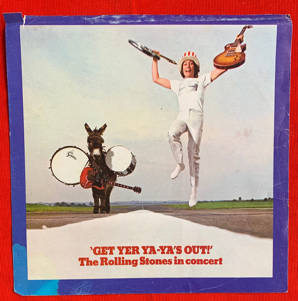 "The Rolling Stones ""Get Yer Ya-Ya's Out!"" Record Store Promo Poster"