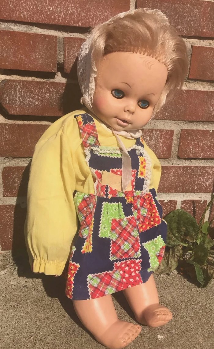 Poor Sad and Old Oleana Doll