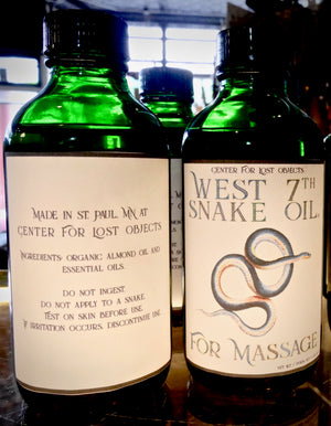 West 7th Snake Oil, For Massage
