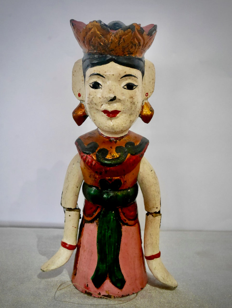 Vintage Wooden Doll Puppet