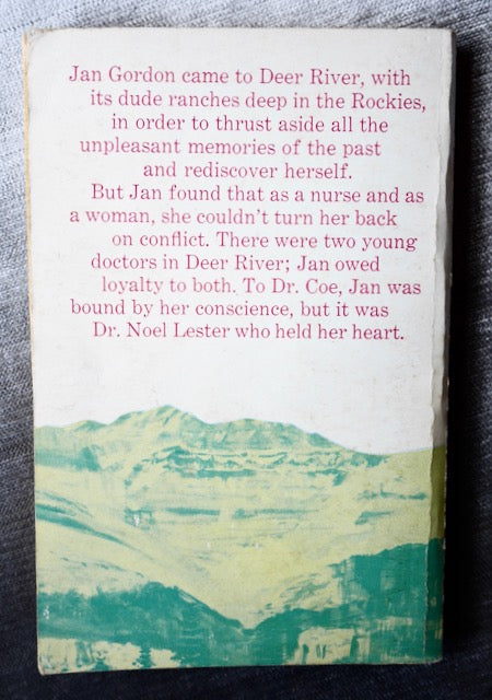 Dude Ranch Nurse Ace Books Paperback, Published, 1963, Arlene Hall