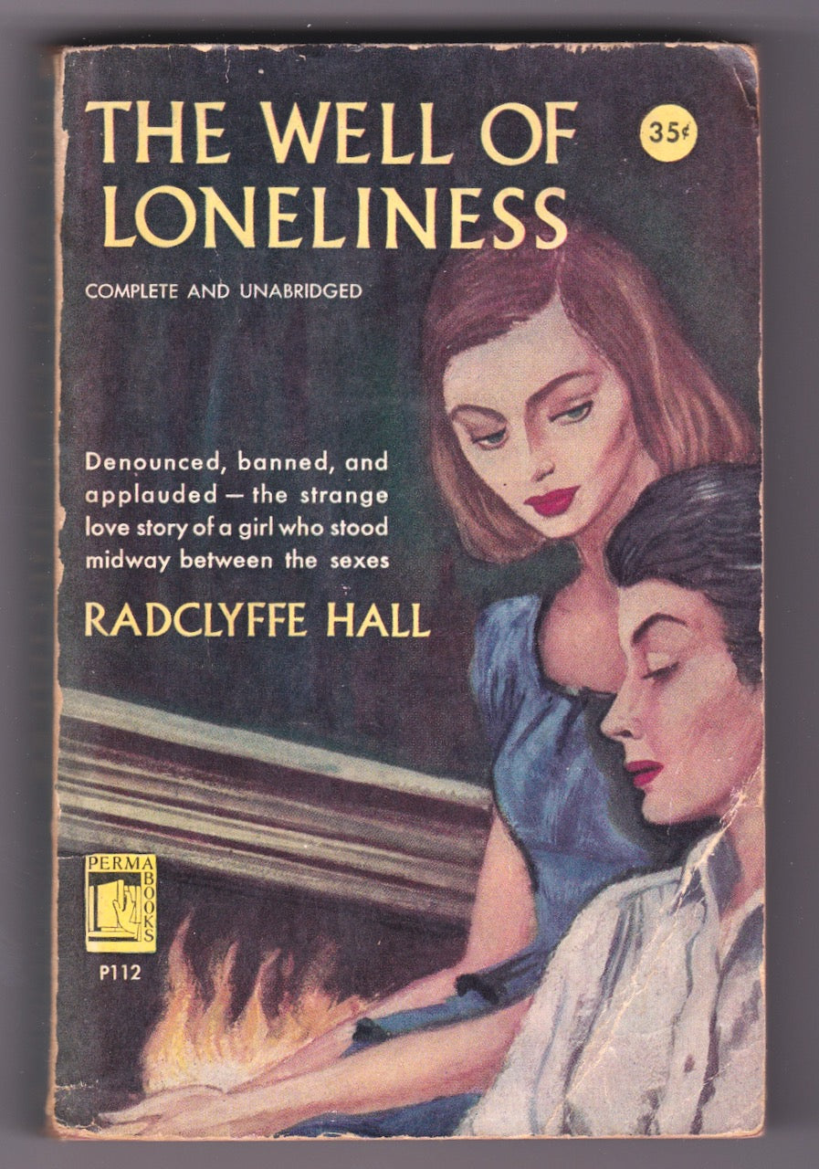 The Well of Lonliness, Perma Books, 1951 Lesbian Paperback Novel, Radclyffe Hall
