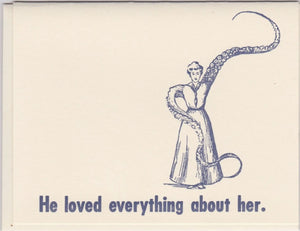 """He Loved Everything About Her"" by Zeichen Press"
