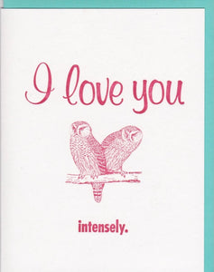 """I Love You Intensely,"" by Zeichen Press"