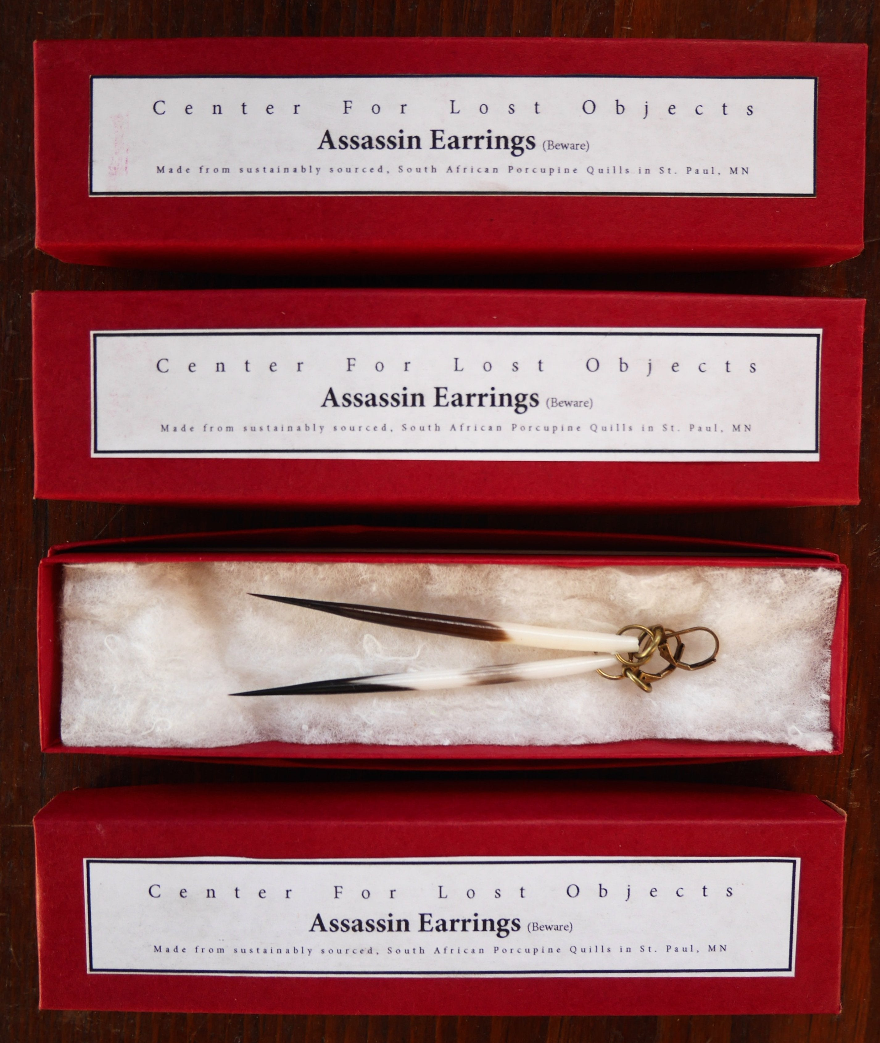 Assassin Earrings!
