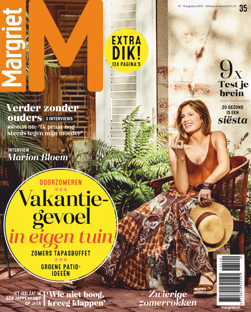 CÎME in Margriet magazine
