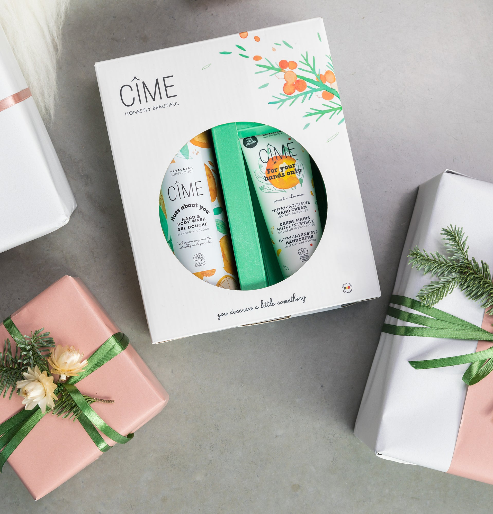 Gift box - Hand cream and hand & body wash