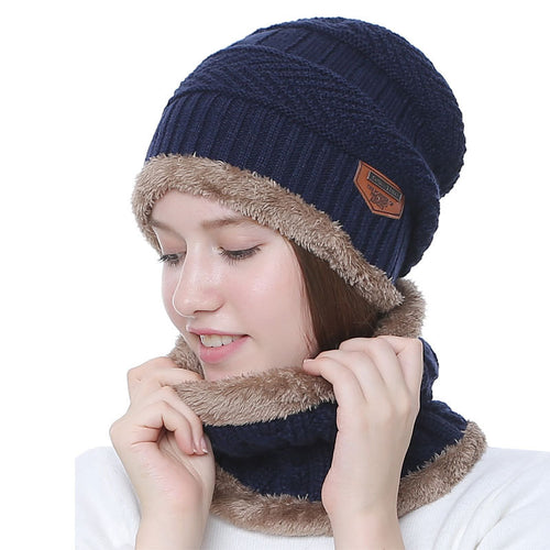 Thickened Hat Knitted Wool Hat