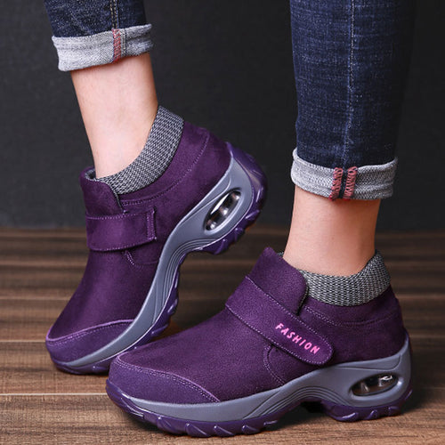 Casual Sports Shoes With Thick Bottom