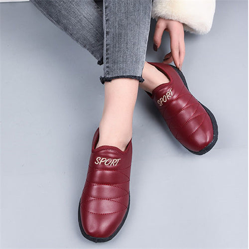 Plus Velvet Thick Warm Casual Sports Ankle Boots
