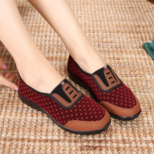 Flat Bottomed Breathable Cloth Shoes