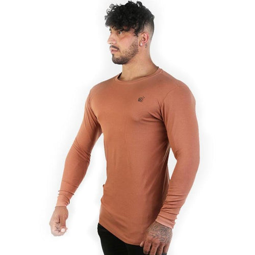 Quick-Drying Breathable Slim Solid Color Long Sleeve