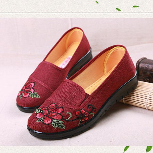 Soft Bottom Non-Slip Breathable Wear Flat Shoes