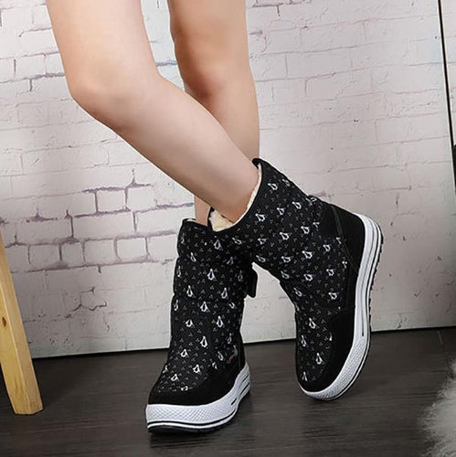 Fashion Breathable Thickening Snow Boots