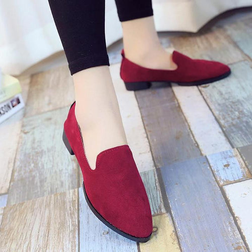 Low-Heeled Shallow Shoes With Casual And Comfortable Women's Shoes