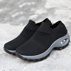 Breathable  Air Cushion Board Shoes Hiking Outdoor Shoes