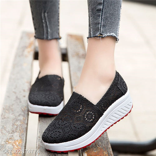 2018 Deodorant Breathable Hollow Casual Sshoes