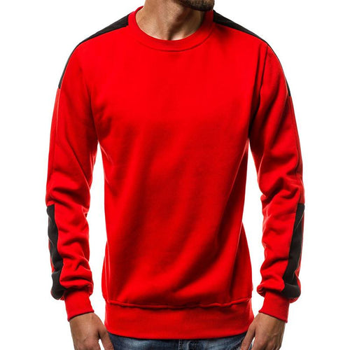 Fashion Casual Color Round Neck Long Sleeve Sweaters