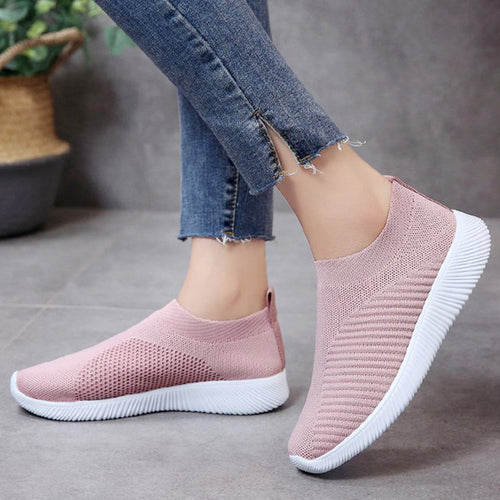 Comfortable Flying Woven Casual Shoes