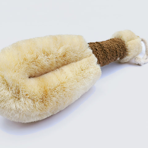 Sisal Body Brush Large from ELYTRUM