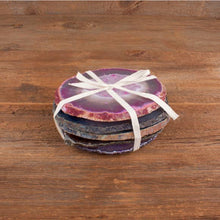 Load image into Gallery viewer, Hiouchi Jewels - Agate Crystal Coaster Set