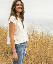 Load image into Gallery viewer, OUTERKNOWN Women's Geo Woven Tee