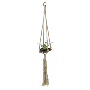 Savvie Studio - Macrame Air Plant Hanger - Single