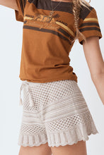 Load image into Gallery viewer, Spell & The Gypsy Collective Atlantic Crochet Flutter Shorts