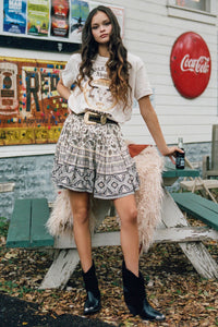 Spell & The Gypsy Collective Journey Mini Skirt