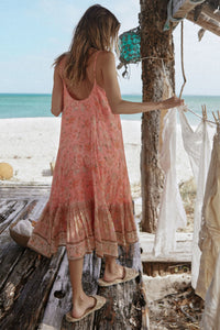 Spell & The Gypsy Collective Seashell Strappy Midi Dress