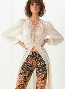 Spell & The Gypsy Collective Le Gauze Lace Duster