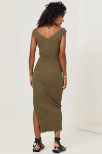 SPELL MAZZY RIBBED DRESS