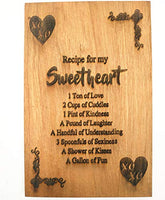 Mother's Gift – Mom Bamboo Cutting Board for Kitchen Mom Birthday Christmas Gift Engraved Side For Décor Best for Meat/Vegetables and Fruits - 9 x 6 inches
