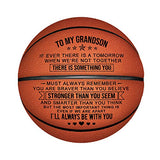 Kenon Engraved Basketball for Son - Personalized Basketball Indoor/Outdoor Game Ball for Son - to My Son Enioy The Ride and Never Forget Your Way Back Home