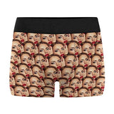 Personalized Wife Face On Men's Underwear Pouch Breathable Boxer Briefs Shorts with Photo