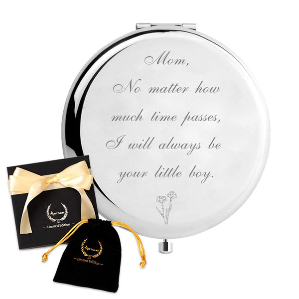 Mom Birthday Gifts from Son,ARTSUN Best Gifts for Mom from Son Personalized Gift for Mothers,Engraved Unique Present to Moms(Mom Gifts from Son)